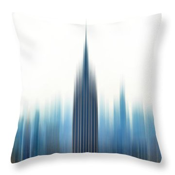 Moving An Empire Throw Pillow