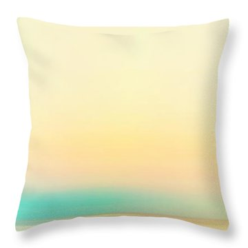Moving Colors 4 Throw Pillow by K Hines