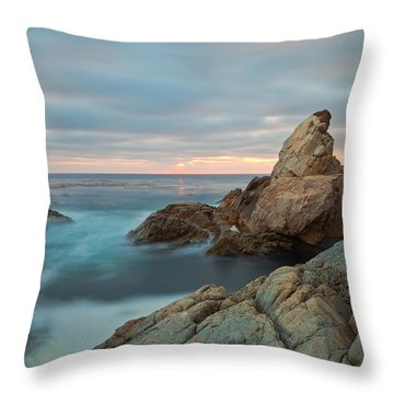 Throw Pillow featuring the photograph Moving Storm by Jonathan Nguyen