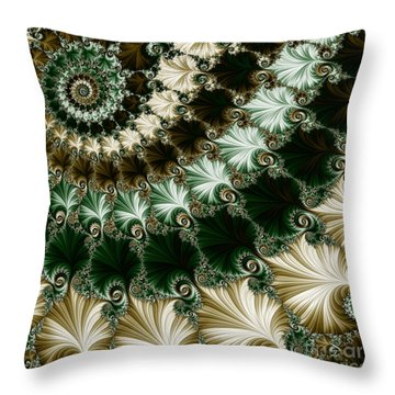Mozart's Rhythm Throw Pillow by Mary Machare