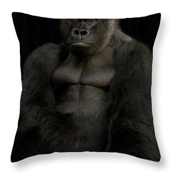 Mr. Big Throw Pillow