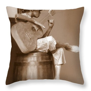 Mr. Bojangles Throw Pillow