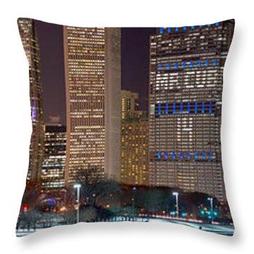 Mr Cub Panorama Throw Pillow