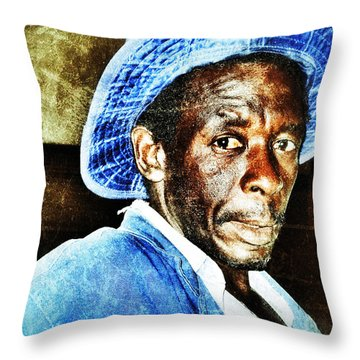 Mr. Jinja Throw Pillow