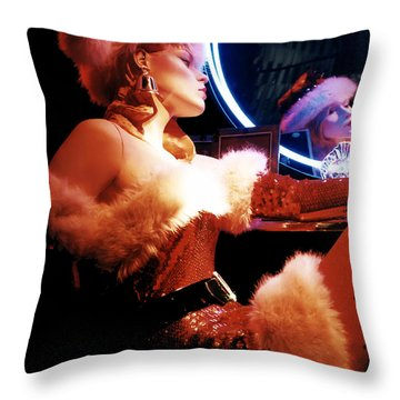 Mrs. Claus Throw Pillow