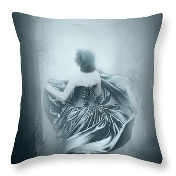 Mrs G Throw Pillow by Svetlana Sewell