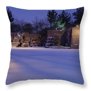 Mrs. Roosevelt Throw Pillow