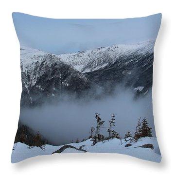 Mt Adams Nh 4000 Ft Throw Pillow
