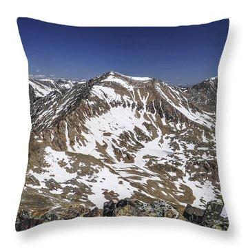 Mt. Democrat Throw Pillow by Aaron Spong