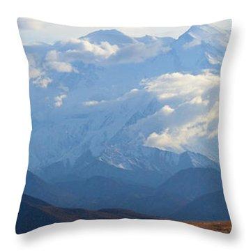 Mt. Denali Throw Pillow
