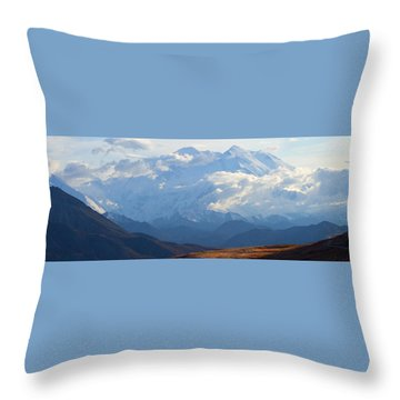 Mt. Denali Throw Pillow