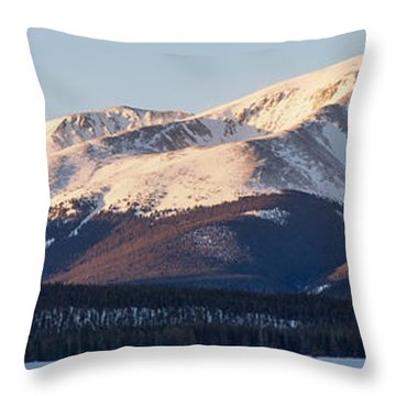 Mt. Elbert Throw Pillow