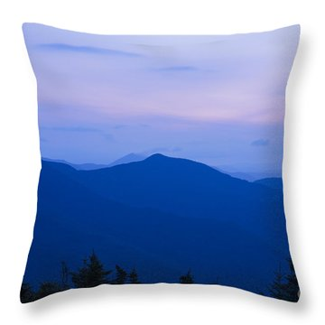 Mt Tecumseh - Waterville Valley New Hampshire Usa Throw Pillow