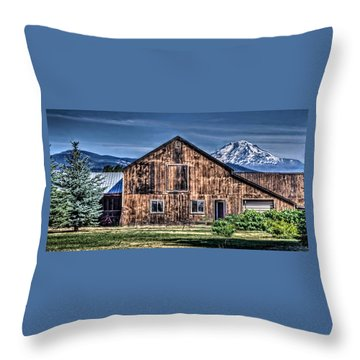 Throw Pillow featuring the photograph Mt. Adams by Thom Zehrfeld