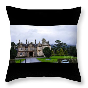 Muckross House Throw Pillow