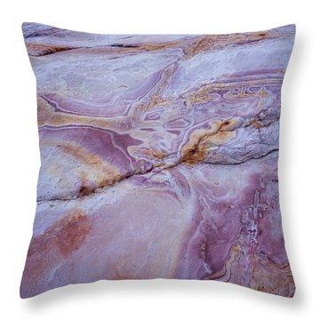 Muddy Mt. Sandstone A Throw Pillow