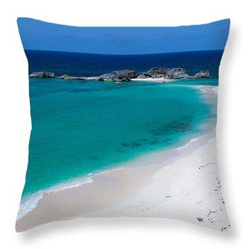 Mudjin Harbour Throw Pillow