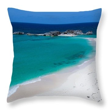 Mudjin Harbour Throw Pillow by Chad Dutson