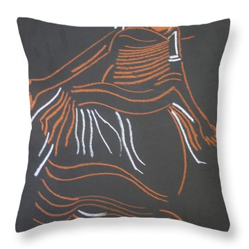 Muganda Lady - Uganda Throw Pillow
