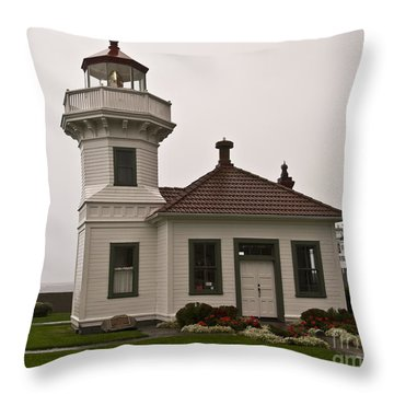 Mukilteo Lighthouse 1 Throw Pillow