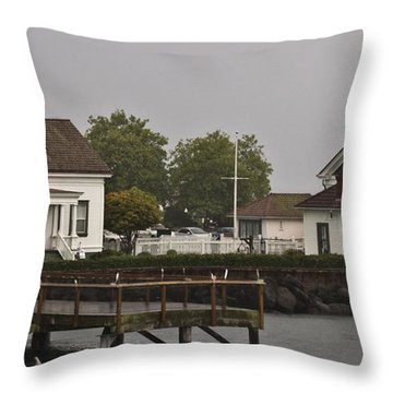 Mukilteo Lighthouse 2 Throw Pillow