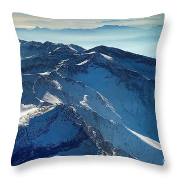 Mulhacen Throw Pillow by Guido Montanes Castillo
