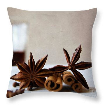 Mulled Wine II Throw Pillow