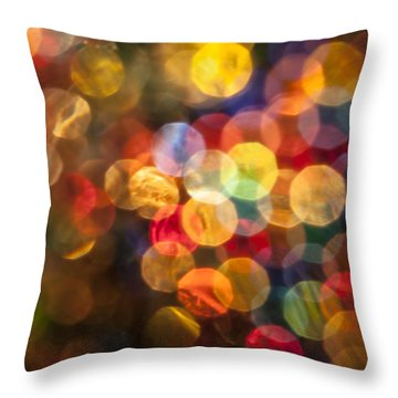 Mulled Wine Throw Pillow by Jan Bickerton