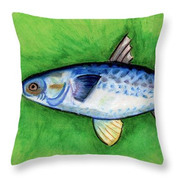 Mullet  Throw Pillow