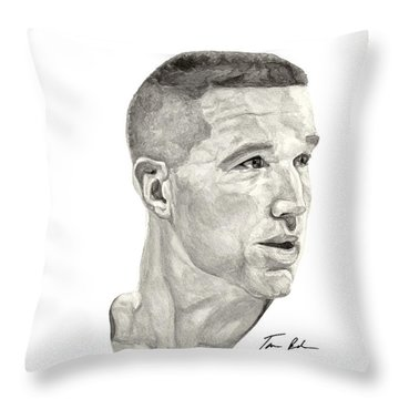 Mullin Throw Pillow by Tamir Barkan
