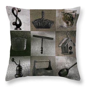 Multi Home Decor - 01v2f4c Throw Pillow by Variance Collections