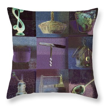 Multi Home Decor - Bz01 Throw Pillow by Variance Collections
