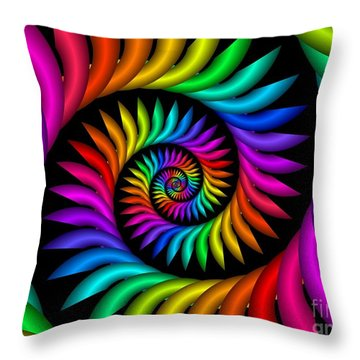 Multichrome  9 Throw Pillow