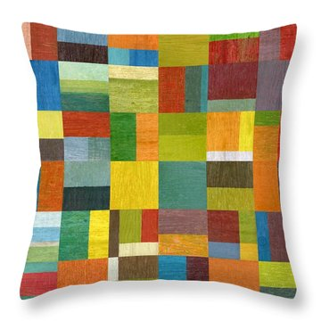 Multiple Exposures Lv Throw Pillow