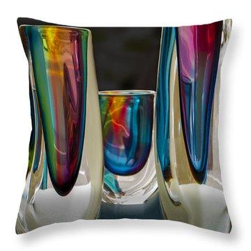 Multiplicity Throw Pillow