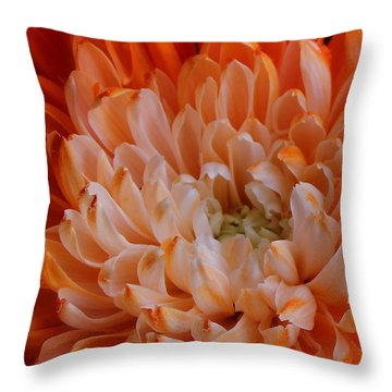 Mum On Fire Throw Pillow