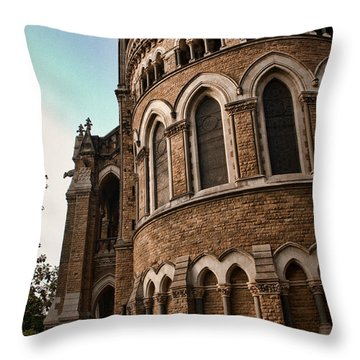 Mumbai University Throw Pillow