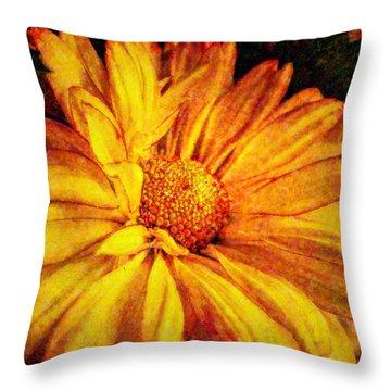 Mum's Mum Throw Pillow by Lianne Schneider