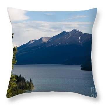 Muncho Lake Throw Pillow