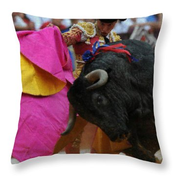 Mundo Torero Throw Pillow by Bruce Nutting