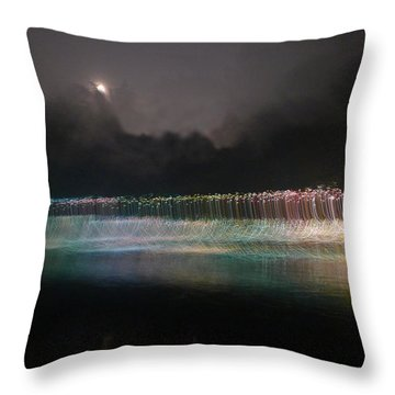 Munro River Reflections 4 Throw Pillow