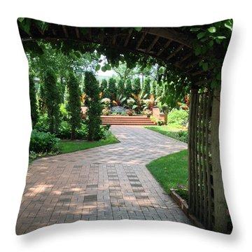 Munsinger Garden Throw Pillow