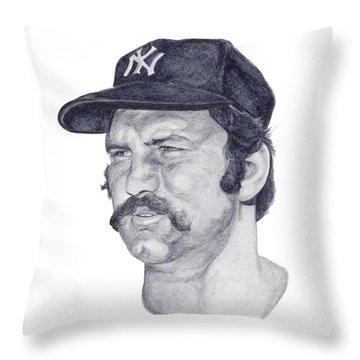 Munson Throw Pillow by Tamir Barkan