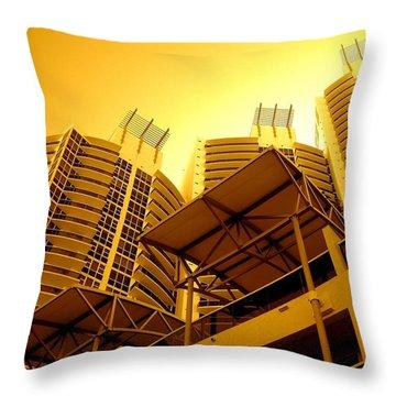 Murano Grande, Miami Throw Pillow