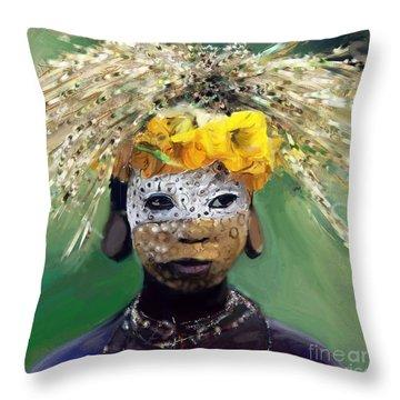 Muris Tribe Africa Throw Pillow