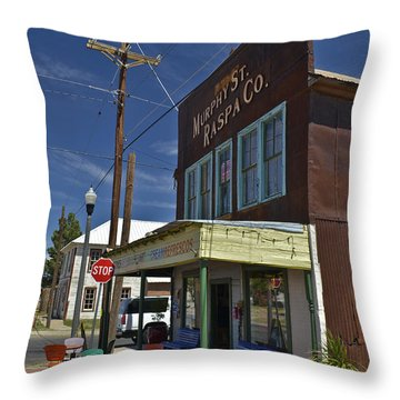 Murphy Street Raspa Throw Pillow