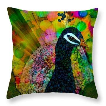 Murugan's Party Throw Pillow