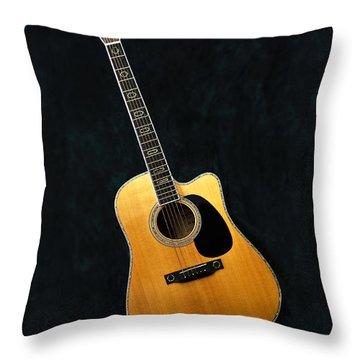 Muscial Memories II Throw Pillow by Tamyra Ayles