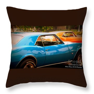 Muscle Throw Pillow