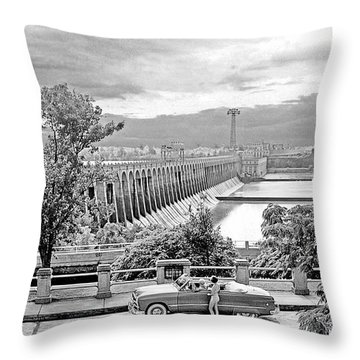 Muscle Shoals Throw Pillow